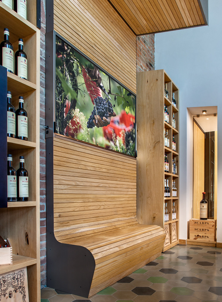 Cantina Scarpa by W/DESIGN